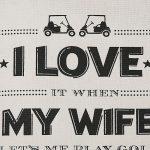 I Love My Wife Tote