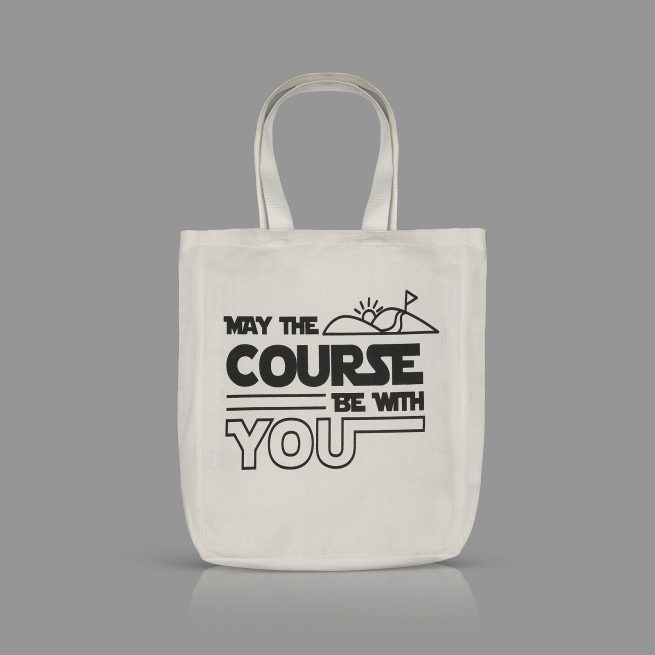 May The Course be with You Tote
