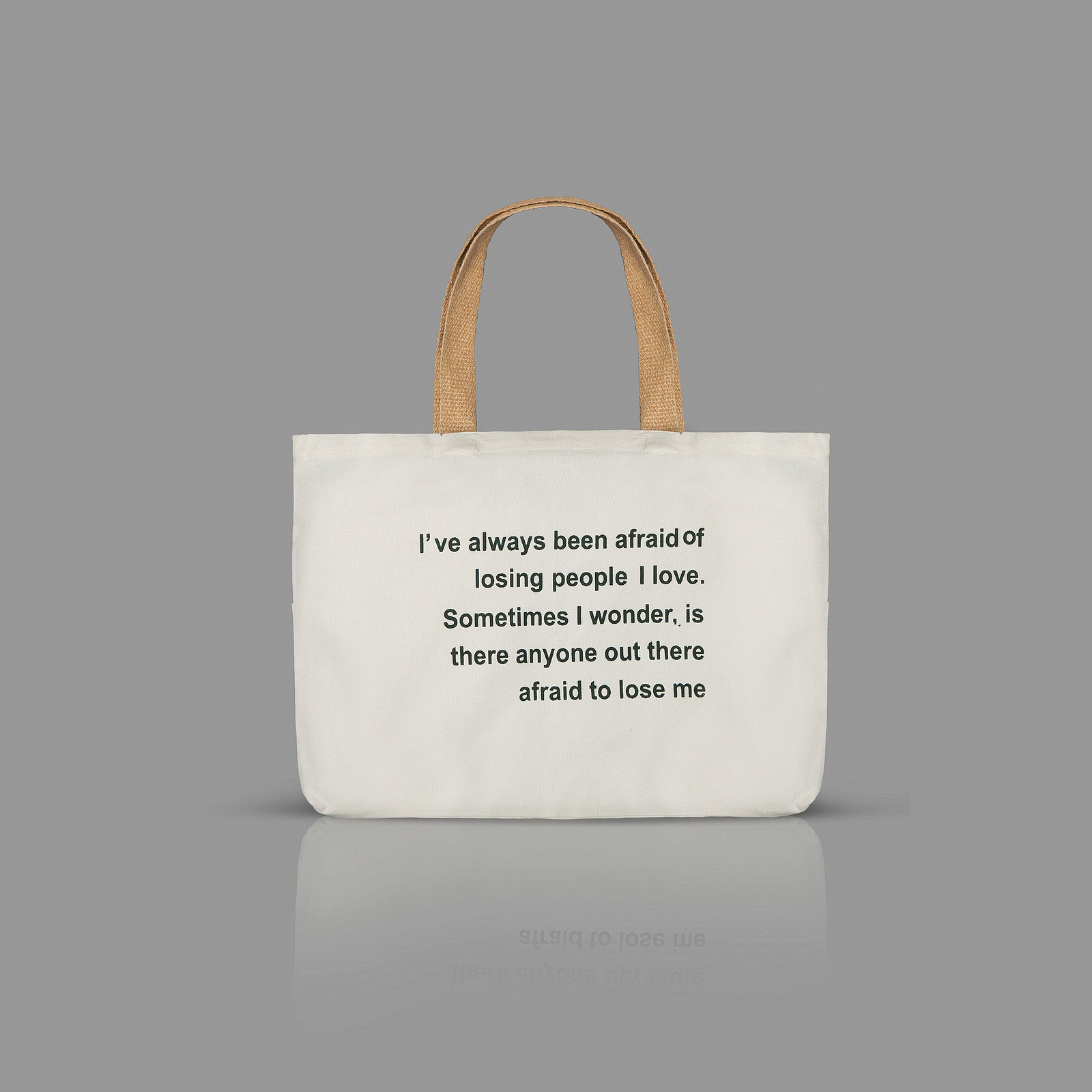Quotation Totes-plain background-wide
