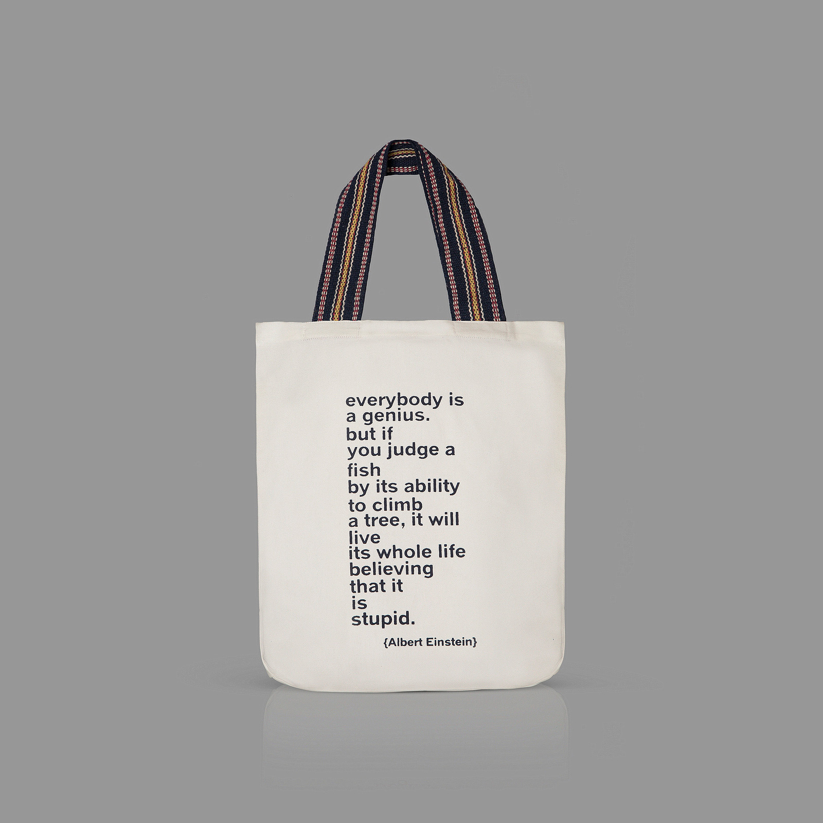 Quotation Totes-plain background-tall